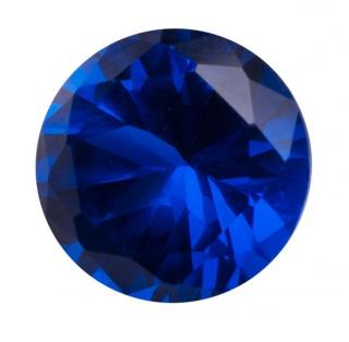 Synthetic Sapphire - Corundum Round - Blue #35 (RS)